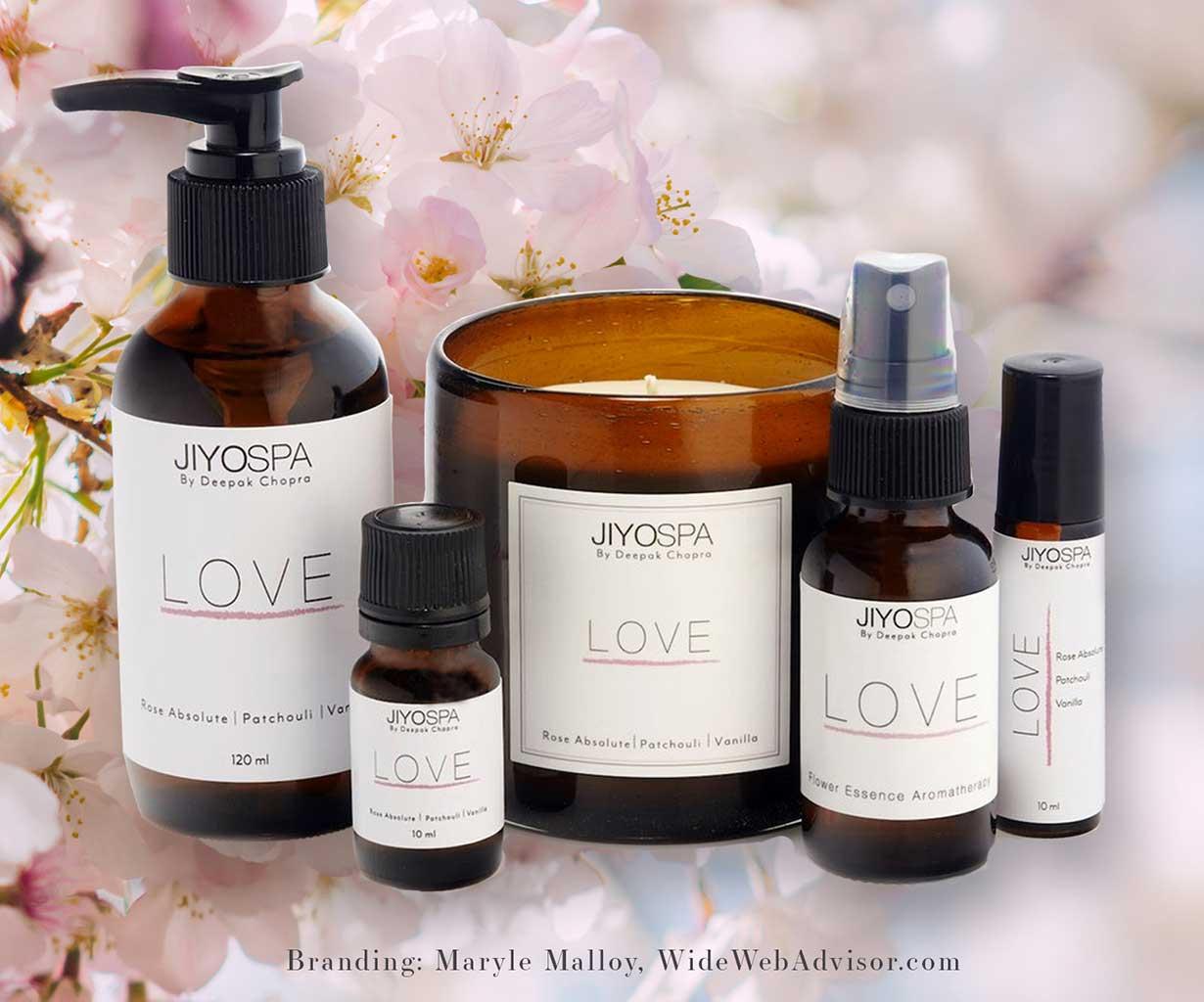 branding for jiyo spa